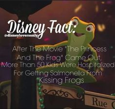 """Previous pinner said: """"oh my gosh so cute!""""  I say: """"Oh my gosh, so dumb!  Who would kiss a frog?"""""""