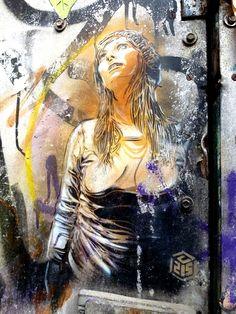 Street Artist: C215 in Brick Lane