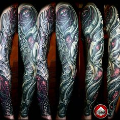 cool Top 100 Biomechanical Tattoos - http://4develop.com.ua/2016/01/30/top-100-biomechanical-tattoos/ Check more at http://4develop.com.ua/2016/01/30/top-100-biomechanical-tattoos/