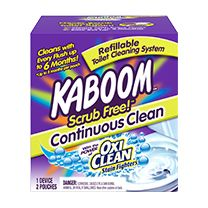 Kaboom Scrub Free Continuous Clean from #smiley360 #kaboom