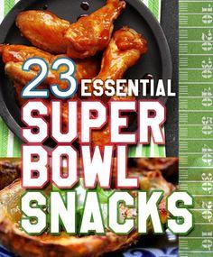 23 Essential Snacks Every Super Bowl Party Should Have Super Bowl Party, Super Bowl 2015, Super Bowl Sunday, Easy Super Bowl Snacks, Super Bowl Recipes, Quick Snacks, Tailgate Food, Tailgating Recipes, Snack Recipes
