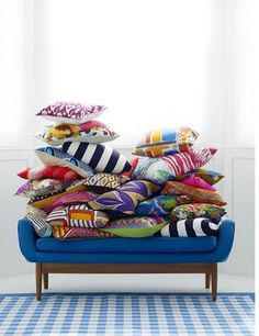 Cushion editorial by Mary Norden