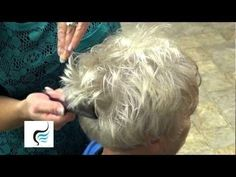 How To Style Trendy Haircut for Grandma Hairstyle - YouTube