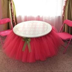 Great idea for a little girl's party!