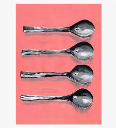 Spoon Kitchen Art Print Digital Download
