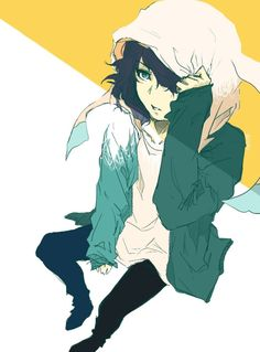 Why does no one ever talk about how ayato has bunny ears on his hoodie