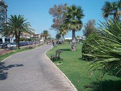 Porto Sant'Elpidio: promenade, Marche - Italy