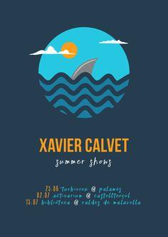 Tour poster XAVIER CALVET