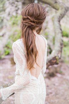 Brautfrisuren Halboffen - 24 elegante Ideen für den wichtigsten Tag im Leben