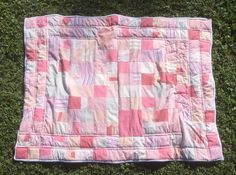 Finished or Not Friday - a Linky Party at Busy Hands Quilts! Pale Blue Corner: Memory Quilt - Part 3