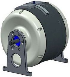 MAGEN Magnetic Energy Engine prototype runs on rare earth magnets, operating a 2.0kW generator 24/7 with no external assistance to start or run the engine