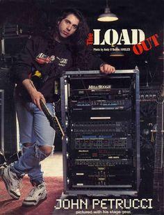 John Petrucci Metal Bands, Rock Bands, Guitar Rack, Dream Theater, Best Guitarist, Screamo, Images And Words, Old Music, Progressive Rock
