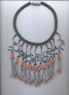 crafty jewelry: beaded flowers. | make handmade, crochet, craft