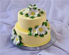 Картинки по запросу торт с ромашками