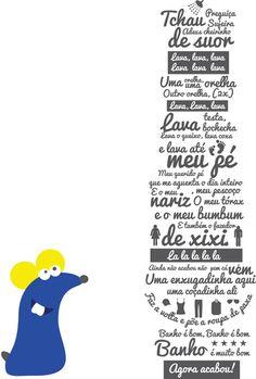 Poster 'Ratinho-Ra Tim Bum' com moldura