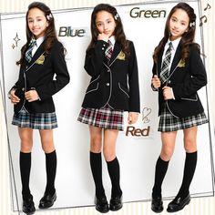 卒業式スーツ女の子ジャケット+スカート+ネクタイ3点セットジョセフジュニア卒服145150160小学生P25Jan15