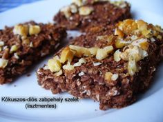 Overconfident What Is Gm Diet Diabetic Recipes, Diet Recipes, Cooking Recipes, Healthy Recipes, Healthy Sweets, Healthy Snacks, Paleo Brownies, Gm Diet, Hungarian Recipes