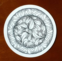 Flux is a tangle I have loved ever since I learned about Zentangle.  It's a classic shape that reminds me of the comma strokes that I l...