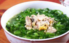 Canh cải xanh cá rô đồng - http://congthucmonngon.com/199794/canh-cai-xanh-ca-ro-dong.html