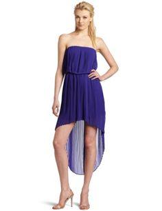 BCBGeneration Women's Pleat High Low Dress: Disclosure:affiliate link