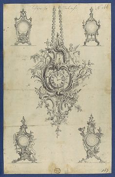 Chippendale Drawings, Vol. I Thomas Chippendale (British, baptised Otley, West Yorkshire 1718–1779 London)