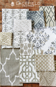 Lacefield Heather 2015 Textile Collection #textiledesigner #lacefield #interiors…