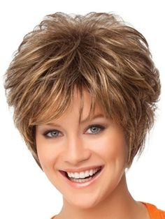 Gala – Gabor Wigs gabor synthetic wig Gala front view – Station Of Colored Hairs Shag Hairstyles, Short Hairstyles For Women, Short Haircuts, Medium Hairstyles, Wedding Hairstyles, Natural Hairstyles, Layered Hairstyles, Black Hairstyles, Dreadlock Hairstyles