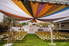Tent Decorations, Wedding Ceremony Decorations, Wedding Bells, Wedding Ideas, Ghana Traditional Wedding, Ghana Wedding, Wedding Cake Photos, Marriage Decoration, Indoor Wedding