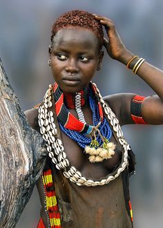 Hamar Tribe. Ethiopia