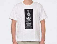 Tee-shirt #adidas by #Neighborhood White #sneakers