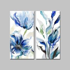 Watercolor Projects, Watercolor Art, Watercolor Flowers, Tulip Painting, Stone Painting, Canvas Art Prints, Canvas Wall Art, Art Deco Paintings, Flower Canvas