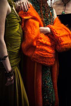 Backstage : le défilé Jean Paul Gaultier haute couture automne-hiver 2016-2017