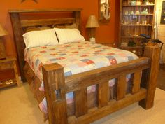 Mission Bed Frame - This is our bed! LOVE IT LOTS!