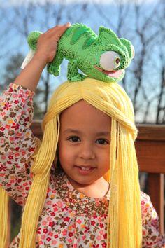 rapunzel wig tutorial