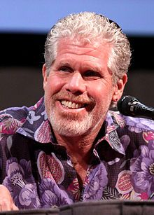 """I've been a fan of the actor, Ron Perlman, ever since I watched him play Beast in """"Beauty and the Beast"""" The tv show in the late 80's."""