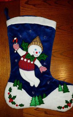 Mr. Bingle christmas stocking