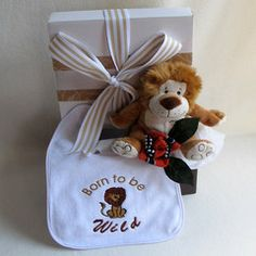 Cute little Jungle Bubby baby hamper #babygifts #babyhampers