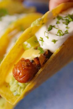 Find how to make these creative and totally inspired taco recipes. From chicken to al pastor to steak and shrimp, your Cinco de Mayo party will be in full swing. Hot Dog Recipes, Beef Recipes, Cooking Recipes, Barbecue Recipes, Lemon Recipes, Family Recipes, Summer Recipes, Soup Recipes, Desert Recipes