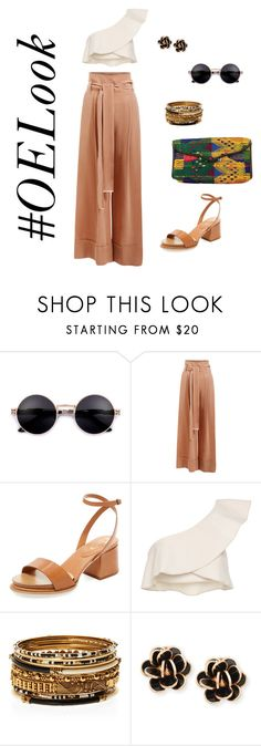 KATANA Clutch by OLIVIA & ELENA by oliviaandelena on Polyvore featuring Isabel Marant, Ginger & Smart, Tod's, Amrita Singh and Chantecler