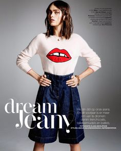 visual optimism; fashion editorials, shows, campaigns & more!: dream jeany: sophie vlaming by klaas jan kliphuis for marie claire netherlands may 2014 #fashion #photography