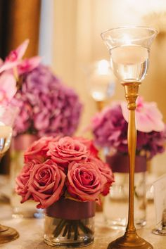 Photography: Judy Pak Photography - judypak.com  Floral Design: Designs by Ahn - designsbyahn.com    Read More: http://stylemepretty.com/2013/01/24/nyc-wedding-at-the-roosevelt-hotel-from-judy-pak-photography/