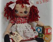 Raggedy Ann Doll - Katie