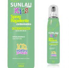 Repelente Sunlau Spray Kids 100ml- Icaridina (igual Exposis) - R$ 50,00