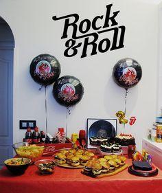 Fiesta temática de rock&roll | Blog www.micasaencualquierparte.com