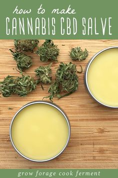 Learn how to make a homemade cannabis CBD salve using CBD infused oil. This topical cannabis salve is highly beneficial and has many uses, including reducing pain, inflammation, and skin issues. Marijuana Recipes, Cannabis Edibles, Cannabis Oil, Weed Recipes, Recipies, Natural Health Remedies, Herbal Remedies, Cough Remedies, Natural Beauty Products