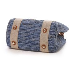 トプカピ TOPKAPI ラフィア・イタリアテープ・ミニトートバッグ(ブルー) -「買ってから選ぶ。」靴とファッションの通販サイト ロコンド