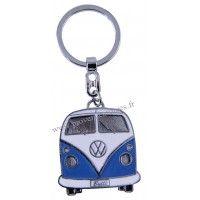 Porte-clés vw combi Volkswagen bleu Brisa rétro vintage collection