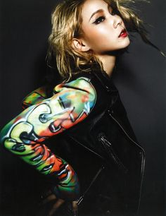 [SCANS] CL on Dazed and Confused Magazine (November 2014) | CL IS THE BUSINESS