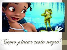Thanynha Ávila-Pintando rostinho negro(princesa Tiana-Disney) Parte 1 - YouTube