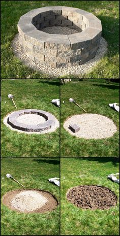 Fire Pit How-To  http://theownerbuildernetwork.co/qq7x  This is probably the easiest fire pit project we've ever come across. All you need are a few materials and a few hours of your weekend to complete this project.